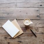 Blöcke, Stift, Kaffee