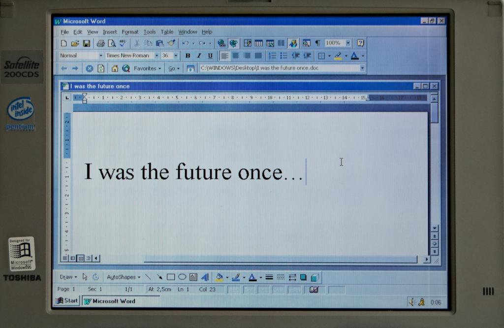 MS Word Screen